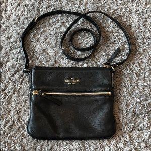 Kate Spade BARELY USED black crossbody purse